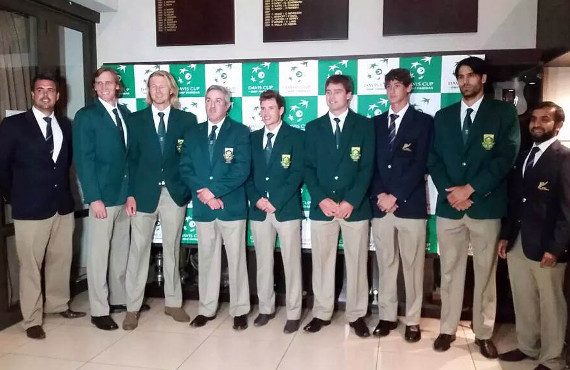 South African National Men's Tennis team and Bio MechaniX Trainer Fayaadh Dhansay