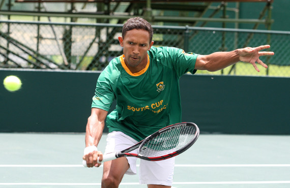 Raven Klaasen trains at Bio MechaniX